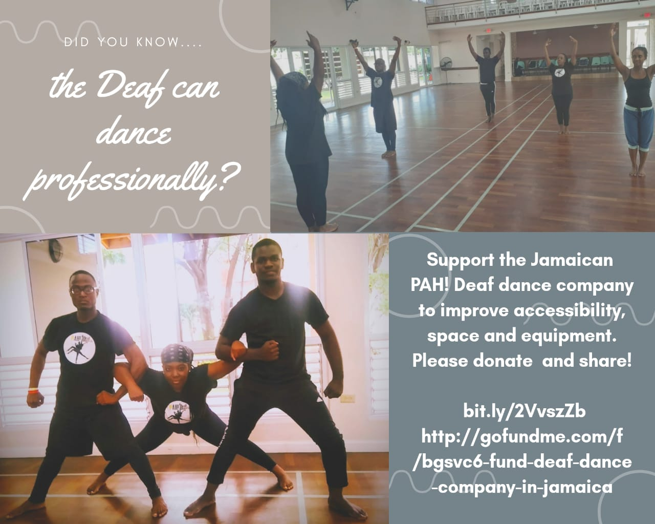 Support PAH! Deaf Dance Company