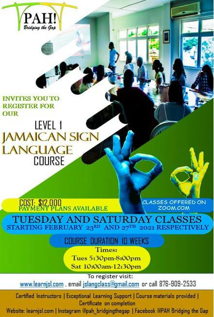 Register for JSL Level 1 starting in February